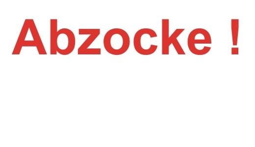 Abzocke 001