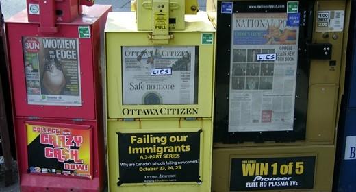 Zeitungsautomaten