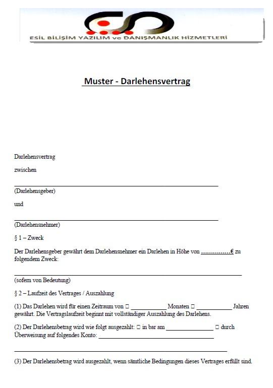 Rip Deal Darlehensvertrag 001